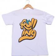 Camiseta Rolling Roll Branca (GG - XG)
